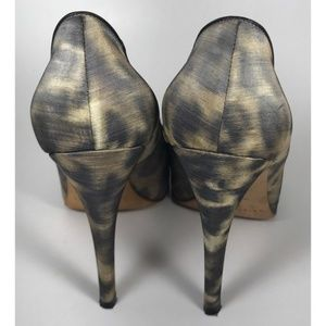 Brian Atwood Shoes - Brian Atwood Animal Print Pumps - Size 37.5